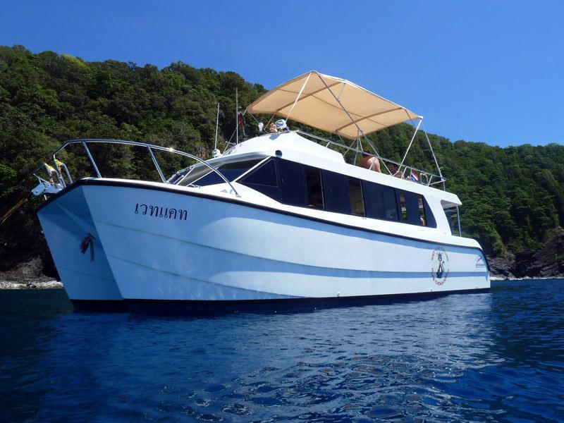 Wet Cat - Catamaran Day Trip Diving Thailand